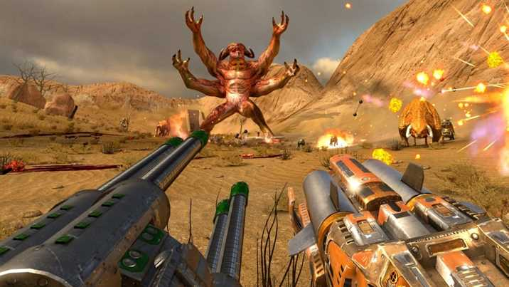 Free Serious Sam: The First Encounter in GOG