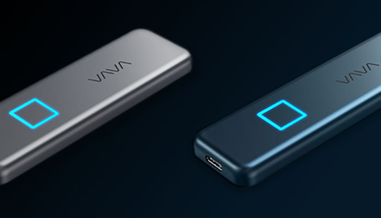 VAVA Portable SSD: Touch with Fingerprint Encryption