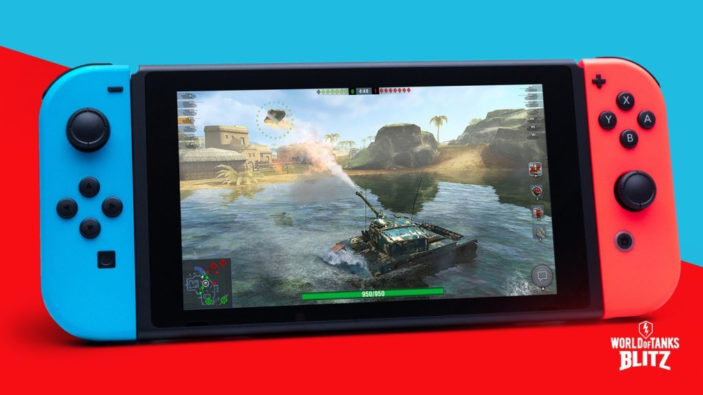World of Tanks Blitz Meets Nintendo Switch Players