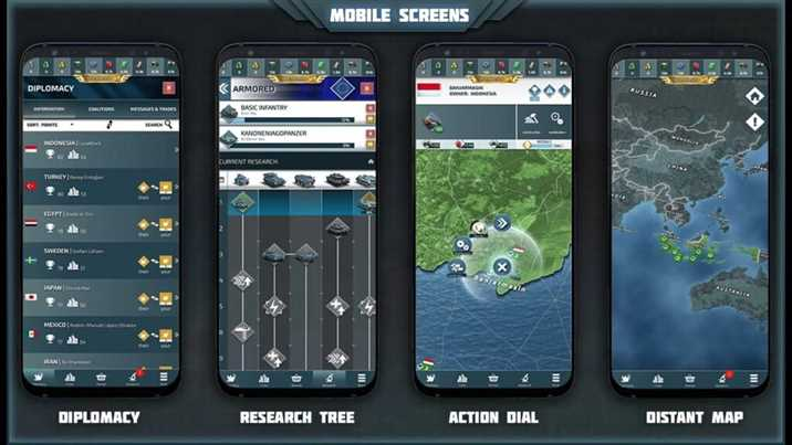 Conflict of Nations WW3 Released for Android and iOS