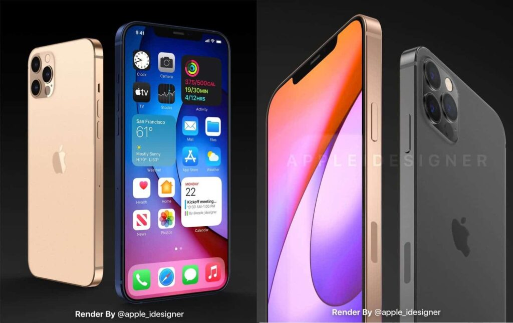 iPhone 12 Pro Rendered Images Revealed