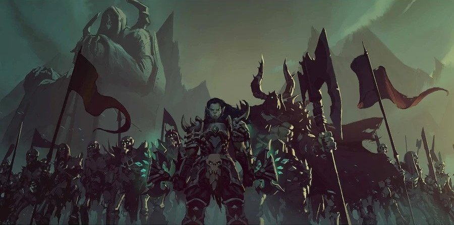 WoW Afterlives New Trailer Revealed: Maldraxxus