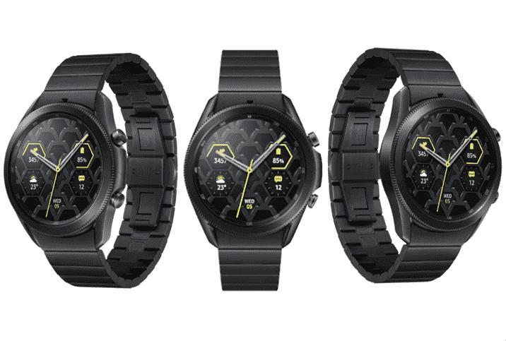 Galaxy Watch 3 Titanium Announced by Samsung