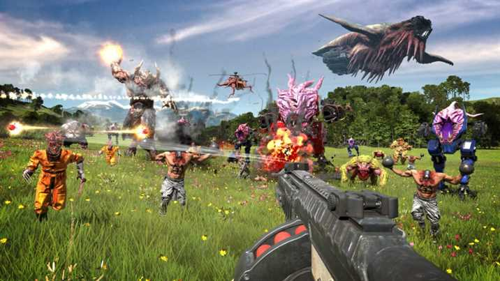 Serious Sam 4 Story Trailer Released on YouTube