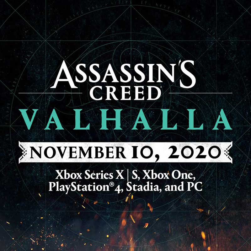 Assassin's Creed Valhalla Release Date Announced
