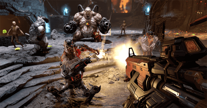 Nvidia Showcases Doom Gameplay With the New RTX-3080
