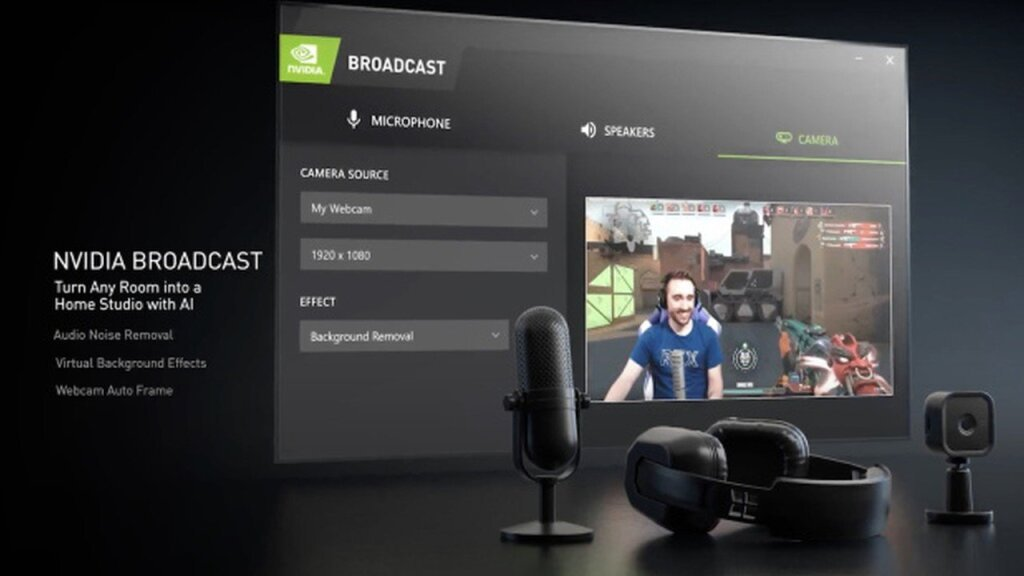 Nvidia Broadcast announced in Nvidia Event