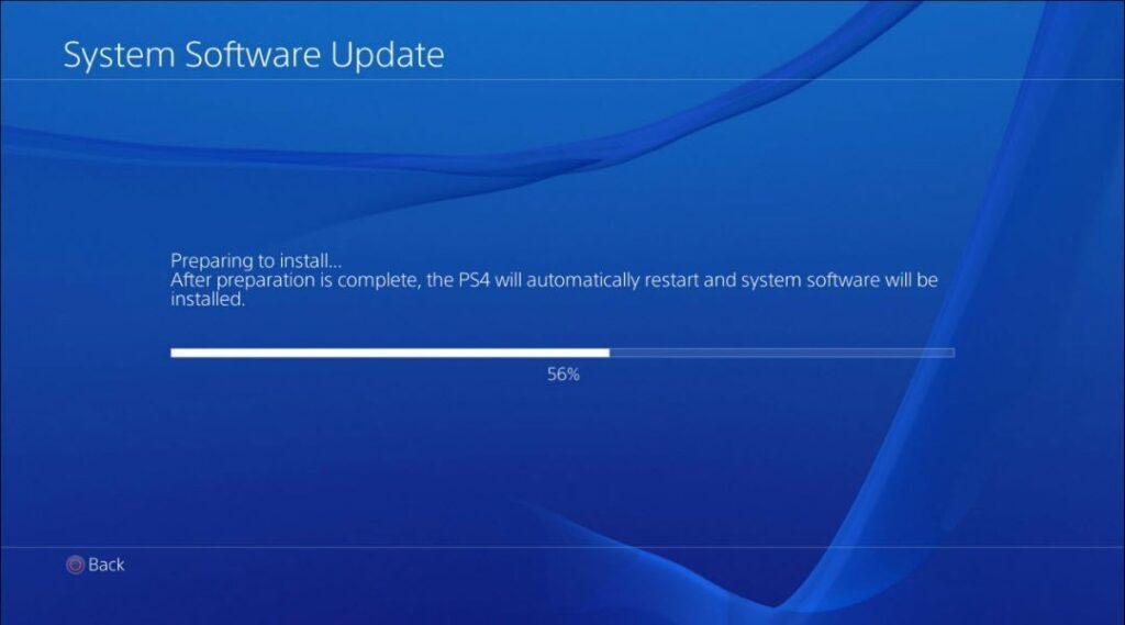PS4 7.55 update error: SU-42118-6