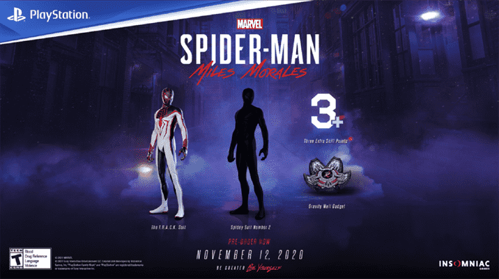 Spider-Man Miles Morales is Available for Pre-Order