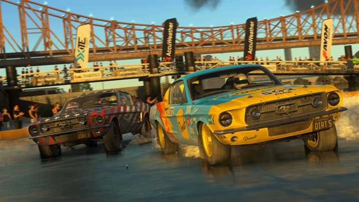 Dirt 5 Gameplay Trailer on the Cape Town Track