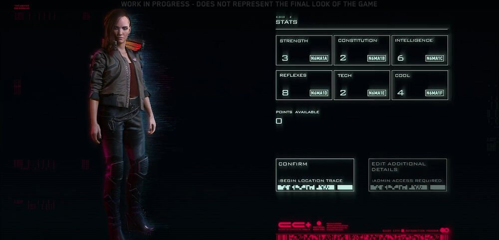 Cyberpunk 2077 Character Creation: What We Know So Far