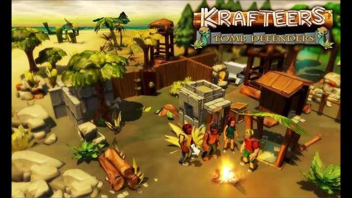 Krafteers Cheats: Tomb Defenders for Android