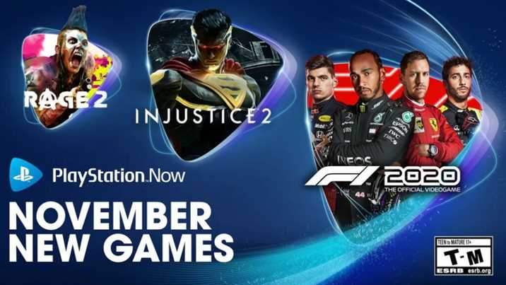PlayStation Now Games in November Announced