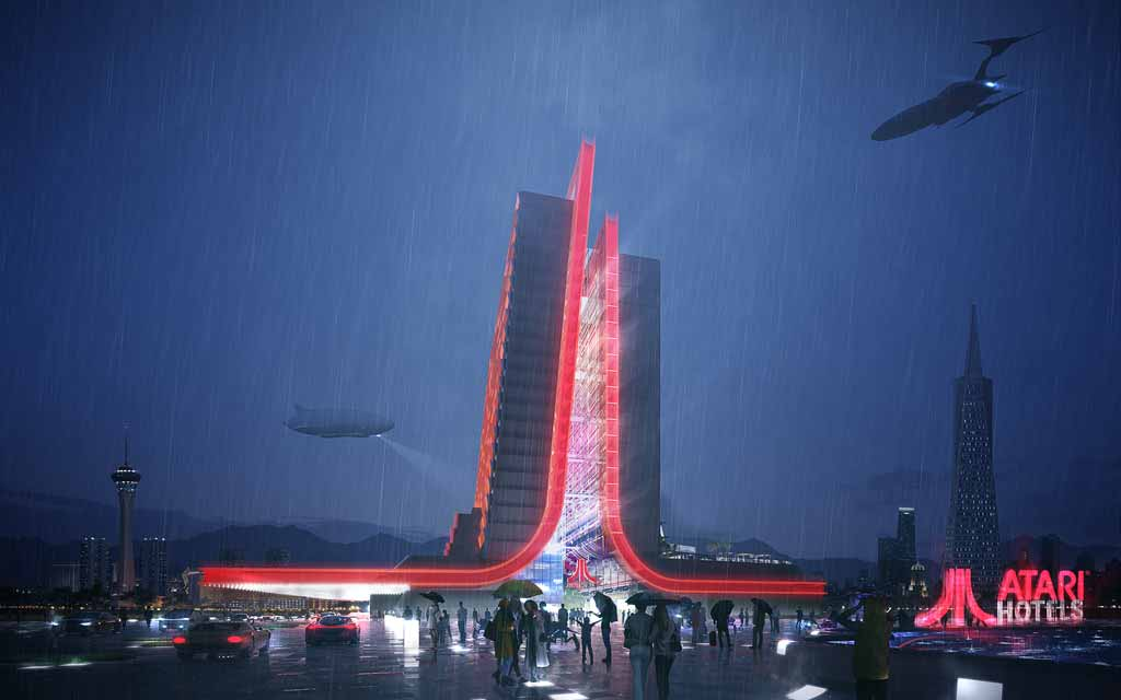 Atari Hotels Design Inspired by the History and Future of Gaming