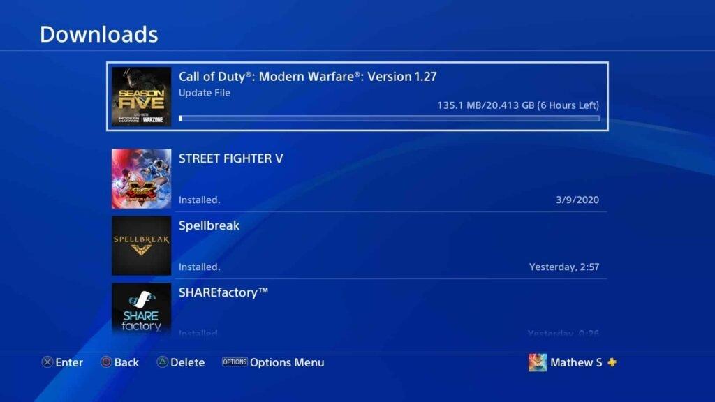 Modern Warfare New Update Will Enable Modular Install