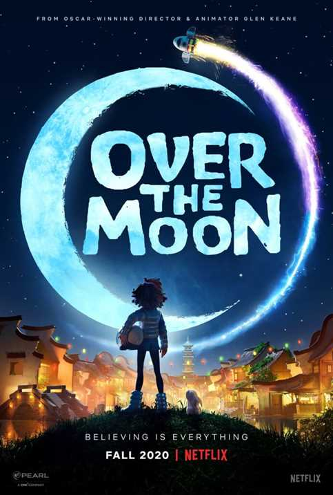 Netflix Released Over the Moon Animated Movie