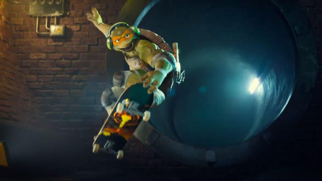 Smite meets Teenage Mutant Ninja Turtles