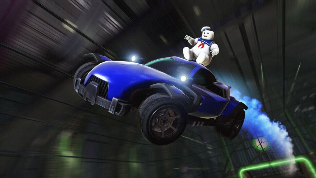 Rocket League Haunted Hallows: Ghostbusters Are Back