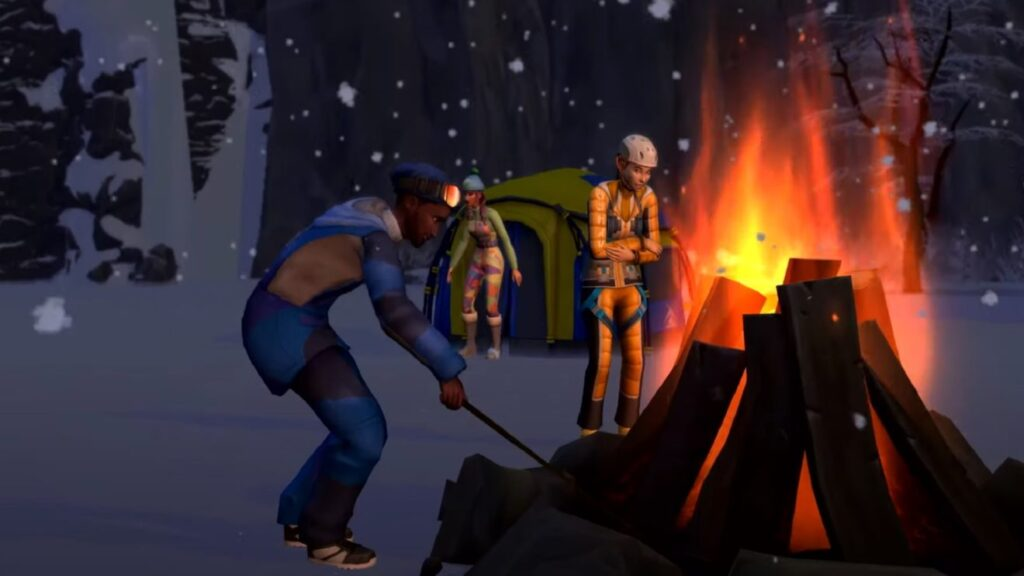 Sims 4 Snowy Escape Expansion: Welcome to Mt. Komorebi