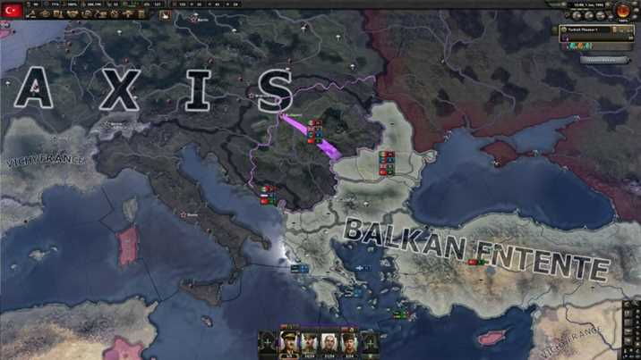 Hearts of Iron IV Battle for Bosporus New Videos Revealed