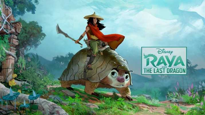 Raya and the Last Dragon Animated Trailer released by Disney