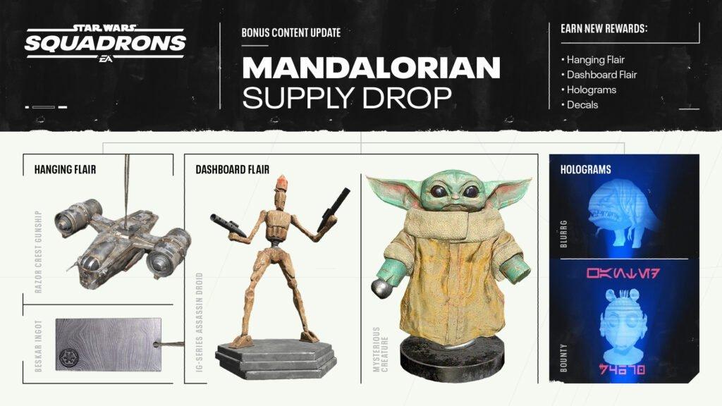 Mandalorian Supply Drop Coming To Star Wars: Squadrons