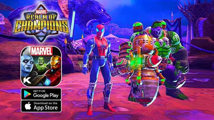 Marvel Realm of Champions Pre-register Has Started