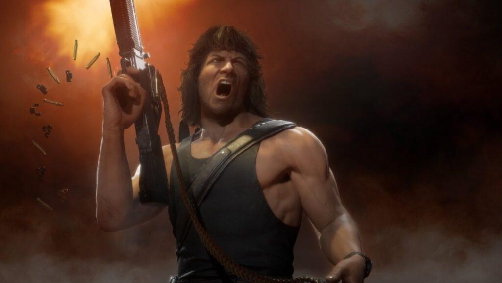 Mortal Kombat 11 Rambo Official Gameplay Trailer Released