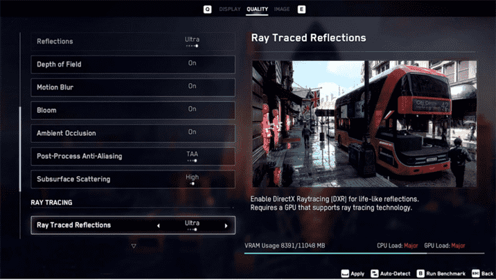 Watch Dogs Legion Graphics Settings Revealed