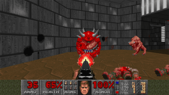 Doom and Doom 2 Open World Mod is Available Right Now