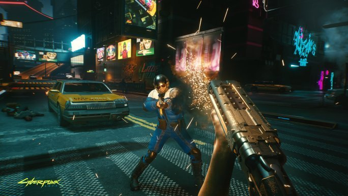 Cyberpunk 2077 Teeth And Nails Can Be Customized