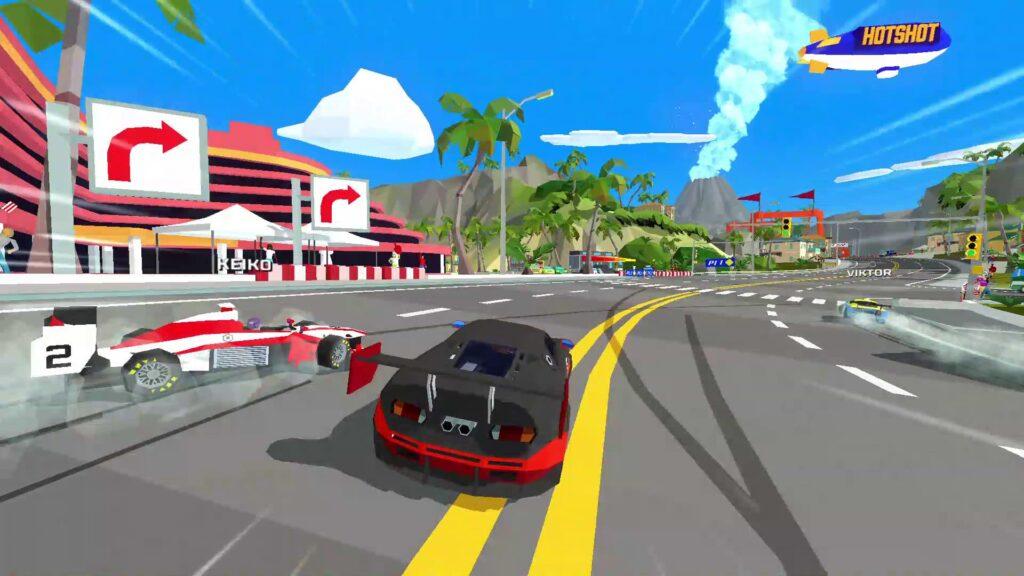 Hotshot Racing Gets its First Free DLC Next Week