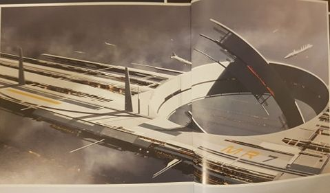 New Mass Effect Game Released Concept Art