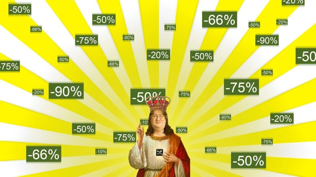 The Steam Autumn Sale Is Finally Started