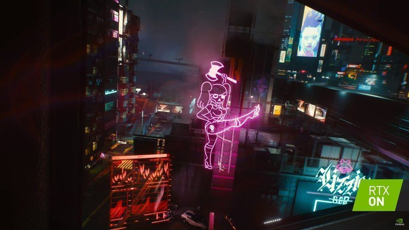 Cyberpunk 2077 Ray Tracing Technology Images Shared