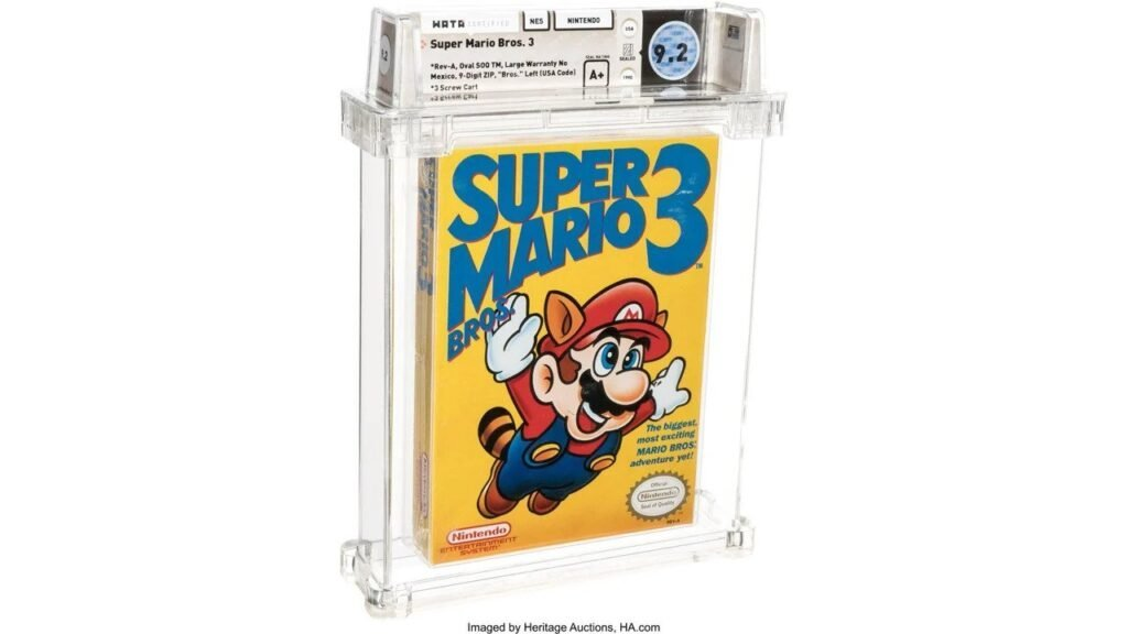 Super Mario Bros 3 Just Sold For A Record $156,000