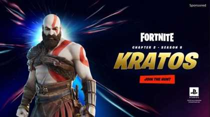 Kratos Is Coming To Battle His Way Through The Fortnite Universe
