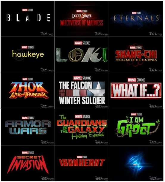 """Marvel Announced More than 10 Series Besides  """"Fantastic 4"""""""
