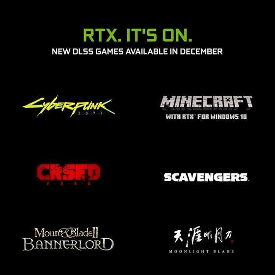 NVIDIA DLSS, 4 New Games Added To Its List