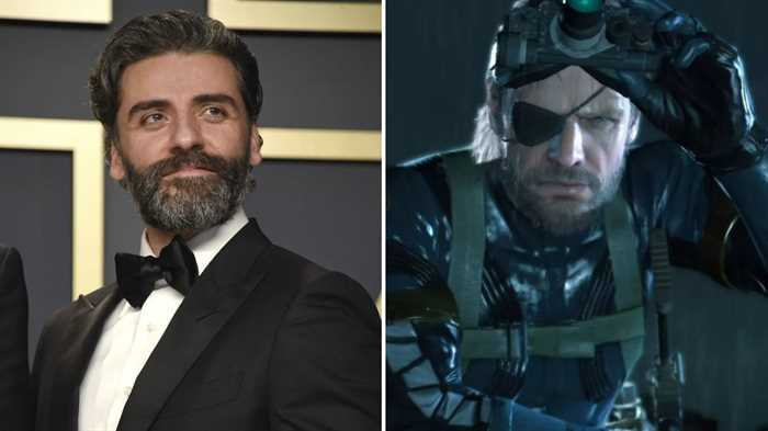 Oscar Isaac To Play Solid Snake In Metal Gear Solid Movie