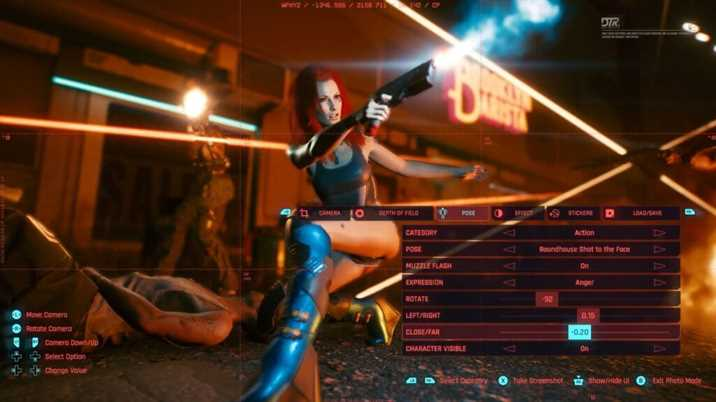 Cyberpunk 2077 Photo Mode Released With A New Trailear
