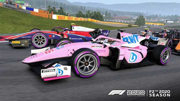 F1 2020 Update Brings F2 To The Game