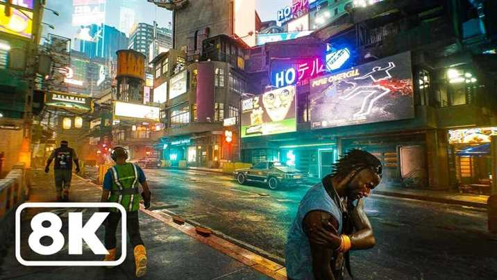 Cyberpunk 2077 8K Tested with RTX 3090