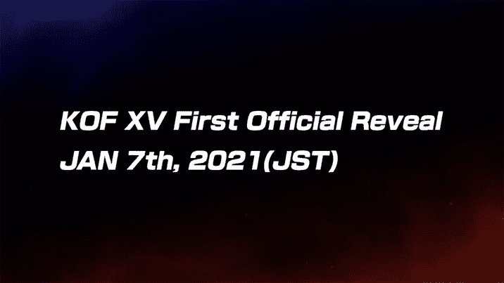 King of Fighters XV Official Trailer Coming in January 7 2021