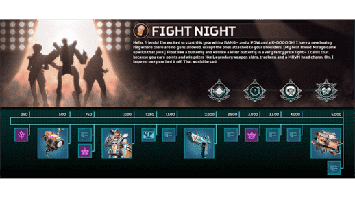 Fight Night Event of Apex Legends Begins Next Week