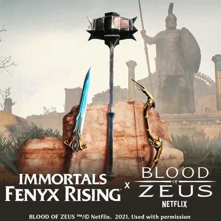 Immortals: Fenyx Rising and Blood of Zeus Event Announced