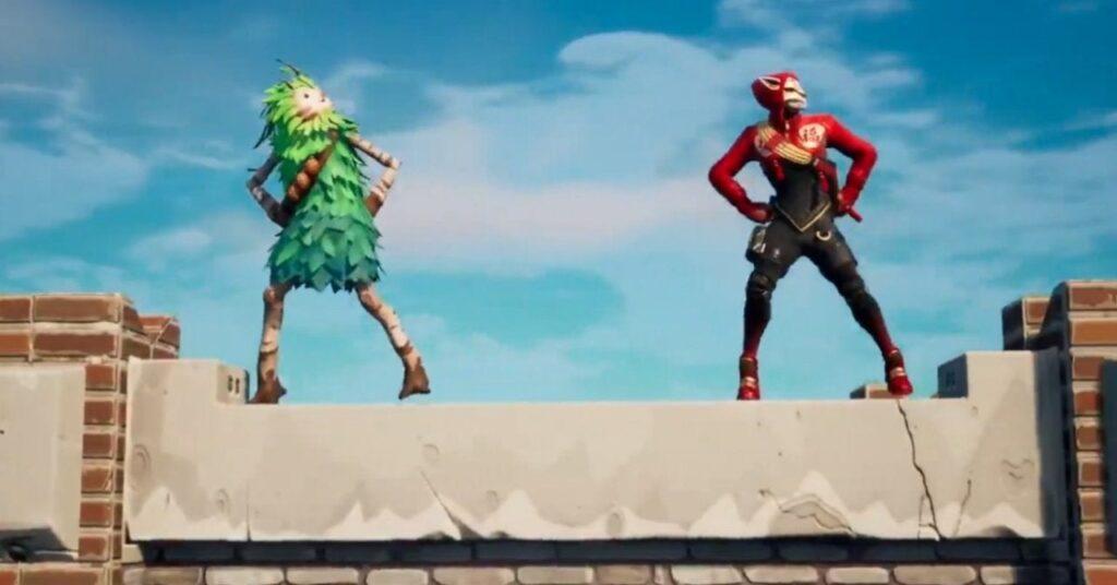 Fortnite Gangnam Style Dance Figure Added
