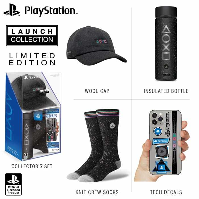 Sony Comes With PlayStation 5 Launch Collection Merchandise Bundle