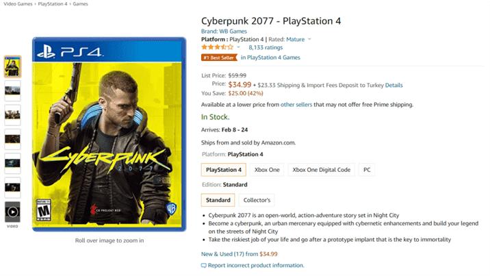 Cyberpunk 2077 Discount is Massive on Retailers