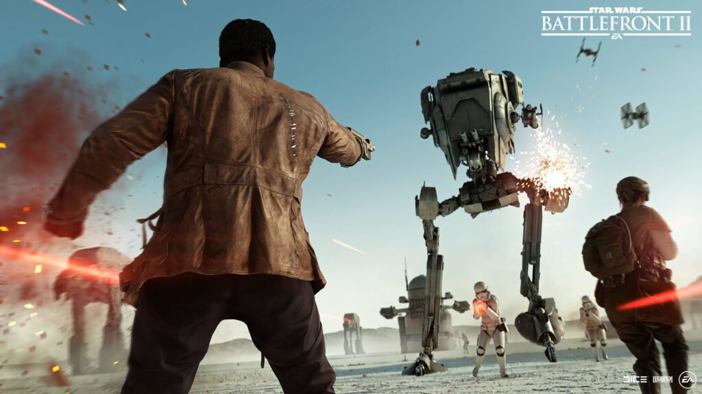 Starwars Battlefront II Smashed Epic Servers